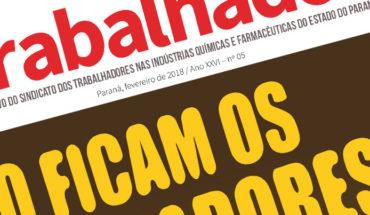 Jornal Tribuna do Trabalhador Fevereiro 2018