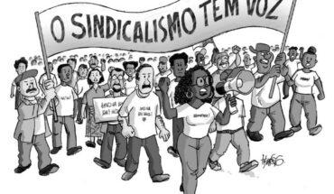 O sindicalismo tem voz